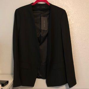 NWT Zara black open blazer